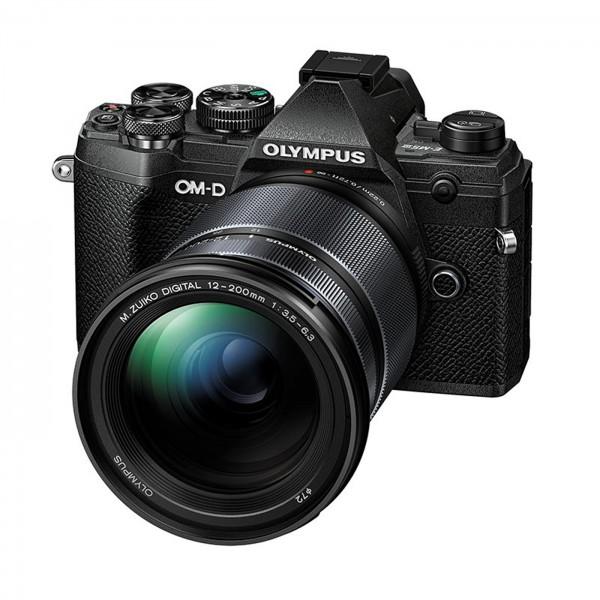 Olympus E-M5 Mark III Set +12-200mm, schwarz