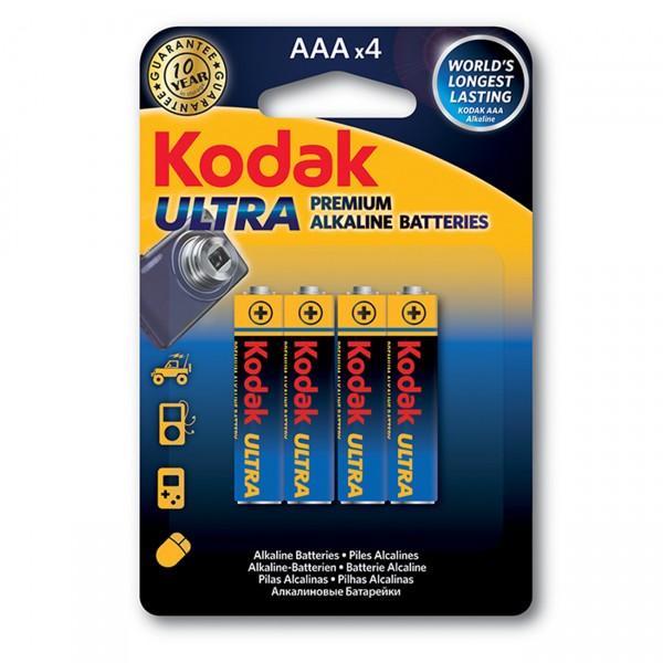KODAK Ultra Premium Micro Batterie (AAA), 4 Stück