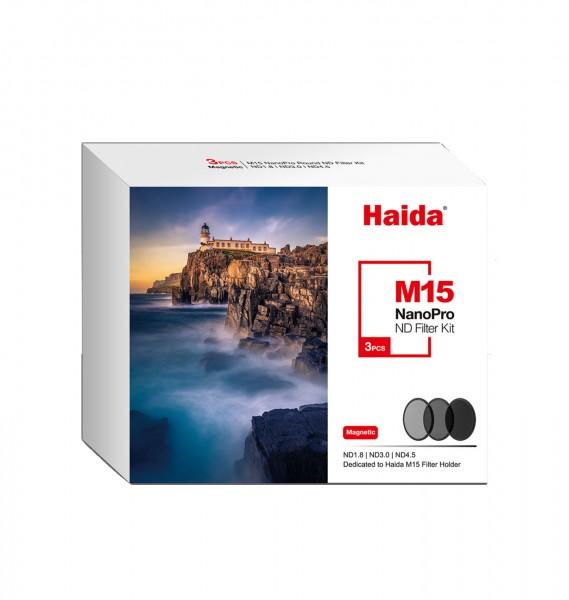 Haida M15 Magnet ND Filter Kit (3 St.) Graufilter
