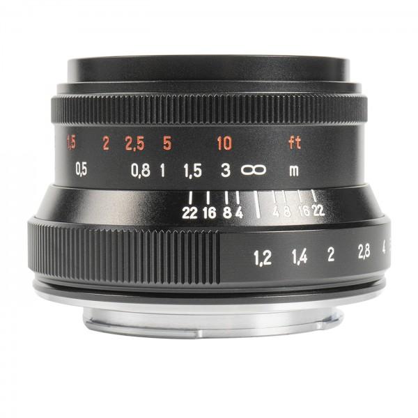 7Artisans 35mm f/1,2 II für MFT