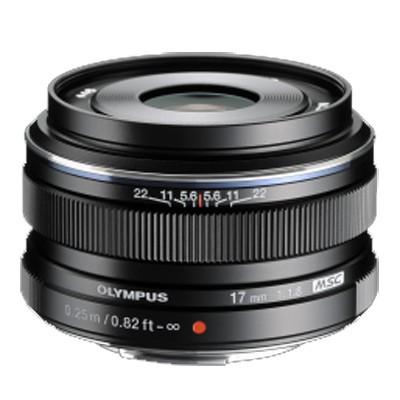 Olympus M.Zuiko Digital 1,8/17mm, schwarz