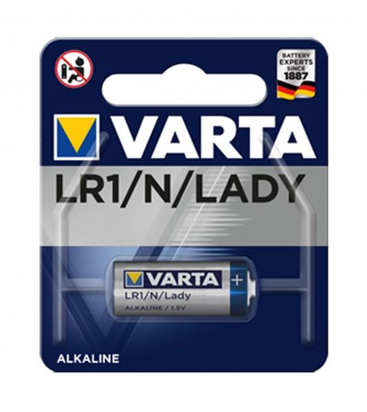 Varta Batterie LADY / LR1 / N 1,5V