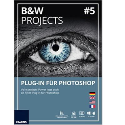 Franzis Black&White Proj. #5 Plug-in für Photoshop