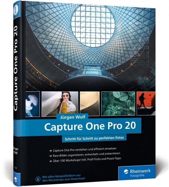Buch: Capture One Pro 20 - Schritt für Schritt