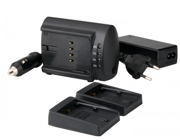 Delkin Dual Universal Charger Set für Canon LPE5