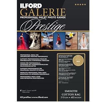 Ilford Galerie Prest. Smooth Cotton Rag A3+ 25Bl