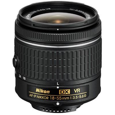 Nikon AF-P DX NIKKOR 3,5-5,6/18-55mm G VR