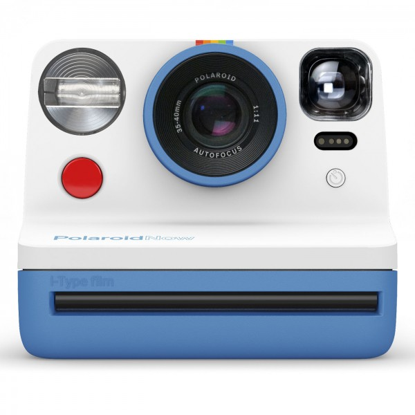 Polaroid NOW, Sofortbildkamera blau