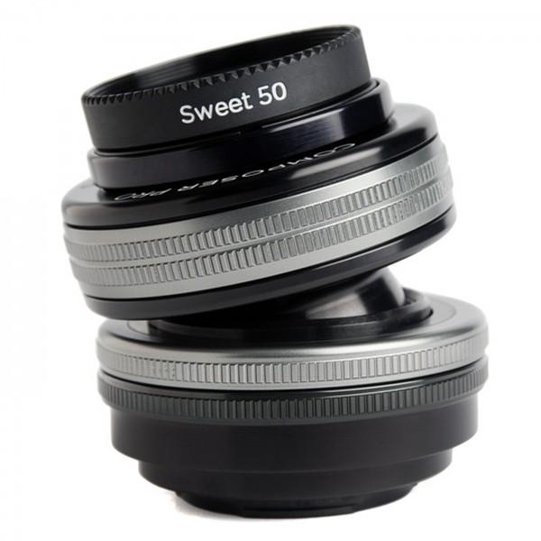 Lensbaby Composer Pro II Set+Sweet 50 Optik f.MFT