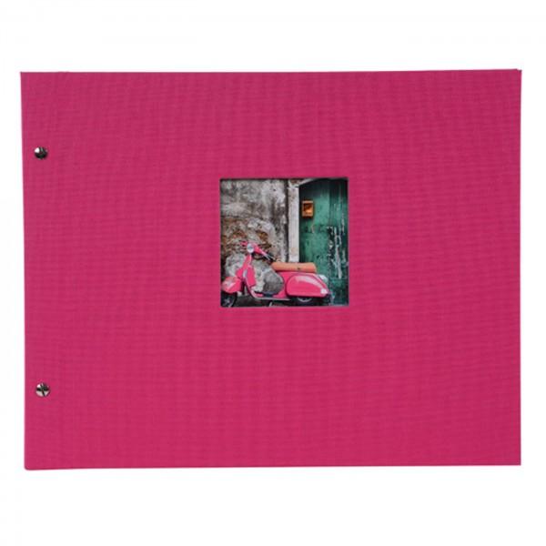 Goldbuch Bella Vista Schraubalbum 39x3, pink