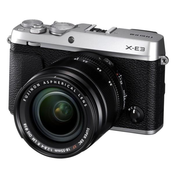 Fuji X-E3 Set + 18-55mm, silber #