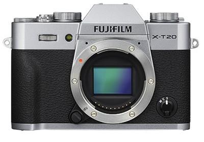 Fuji X-T20, silber