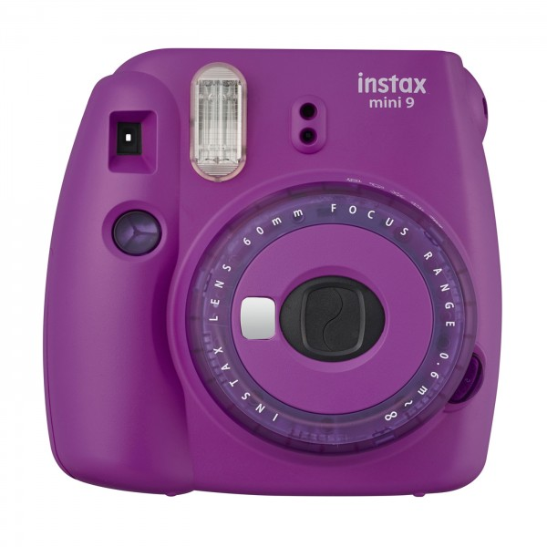 Fuji Instax mini 9 clear purple limited edition