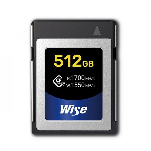 Wise CFexpress 512GB Speicherkarte