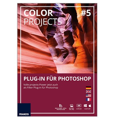 Franzis Color Projects #5 Plug-in für Photoshop