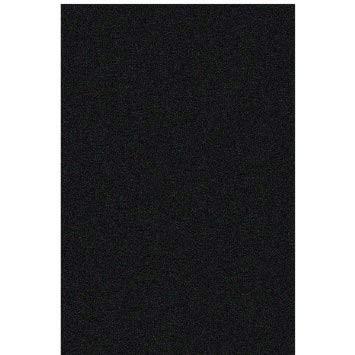 Velours-Folie schwarz 1m x 45 cm