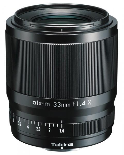 Tokina atx-m 1,4/33 mm für Fuji X
