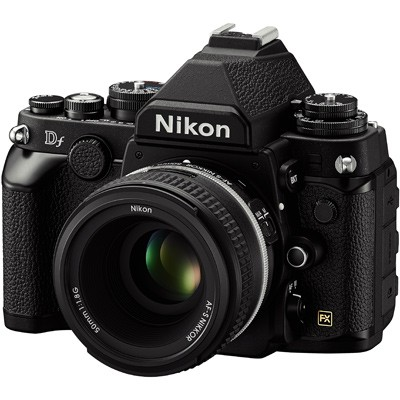 Nikon Df, schwarz Set+ AF-S NIKKOR 1,8/50 mm G SE