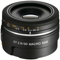 Sony Objektiv SAL 2,8/30mm Macro SAM DT