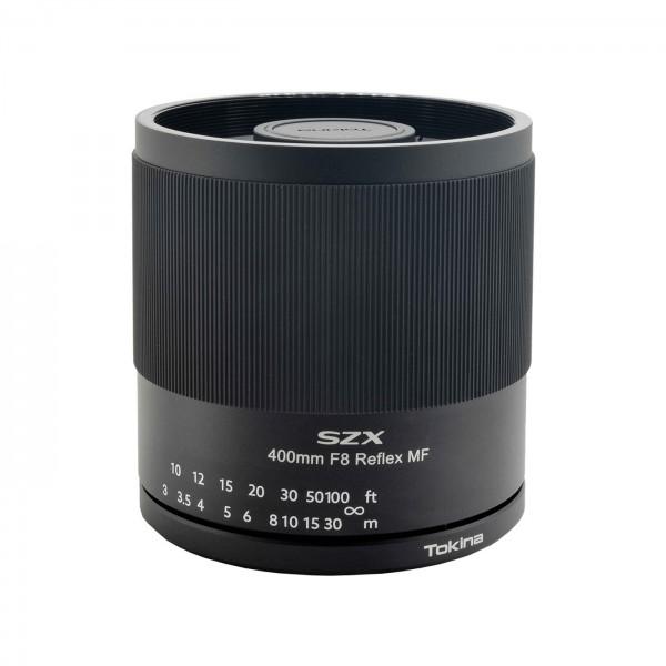 Tokina SZX 8/400mm Reflex MF für Nikon F