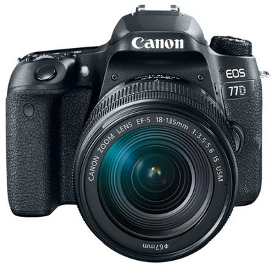 Canon EOS 77D Set + EF-S 18-135mm IS STM