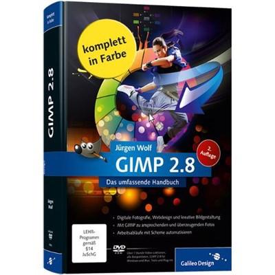 Buch: GIMP 2.8 - Das umfassende Handbuch