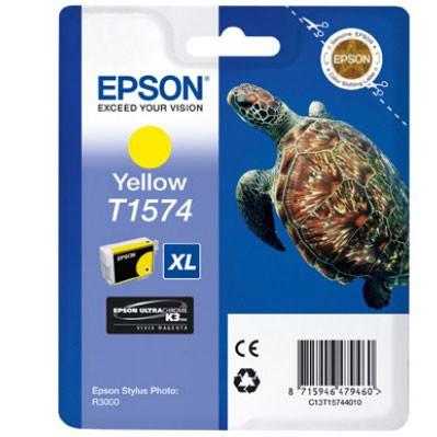 Epson Tinte (T1574) yellow für R3000
