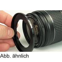 Filter-Adapterring: Objektiv 55mm - Filter 49mm
