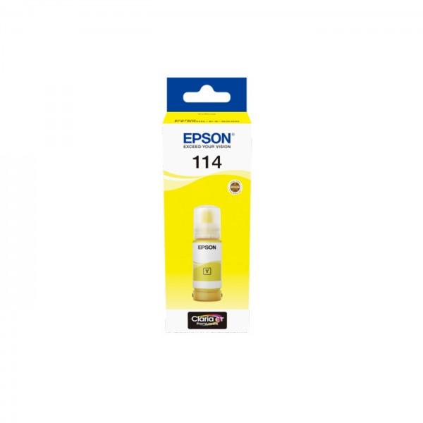 EPSON Tintenflasche 114 yellow