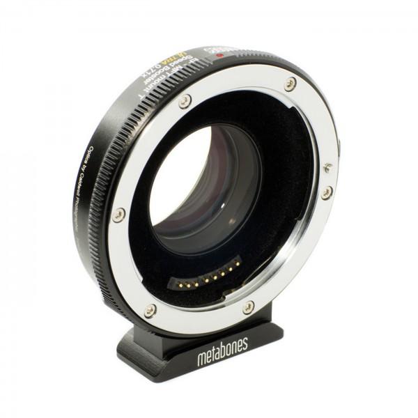 Metabones Speed Booster ULTRA Canon EF an MFT