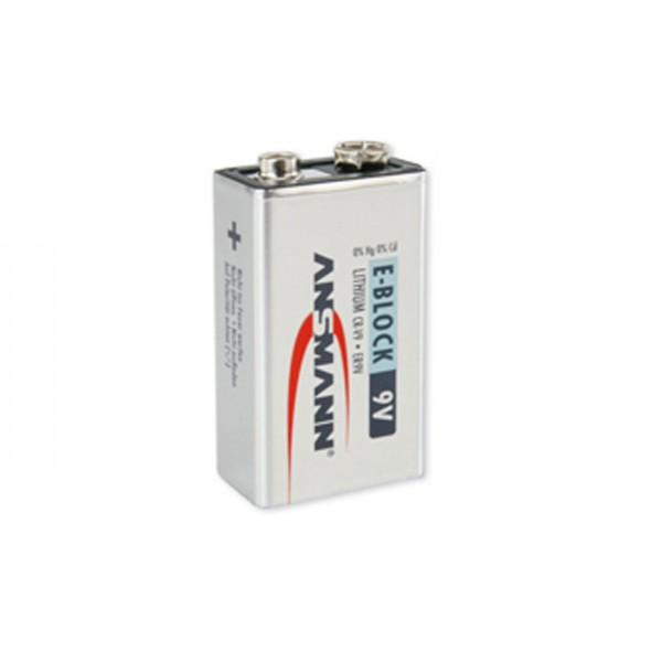 Ansmann 9V-Block (E) Lithium