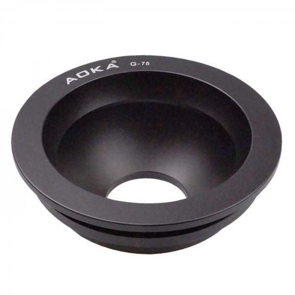 AOKA Video-Halbschale 75mm
