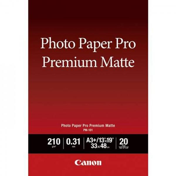 Canon PM-101 Pro Premium Matt, 210g, 20 Bl. A4