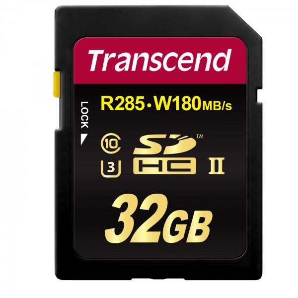 Transcend SDHC-Karte 700S UHS-II V90 285MB/s 32GB