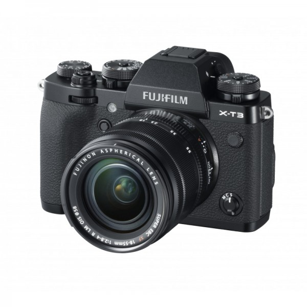 Fuji X-T3 Set + XF 18-55mm R LM OIS, schwarz