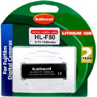 Hähnel Li-Ion Akku HL-F80 für Fuji