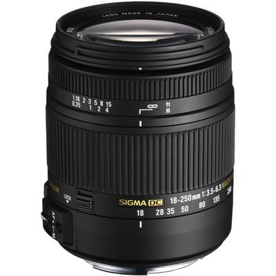 Sigma 3,5-6,3/18-250 DC Makro OS HSM f. Canon EOS