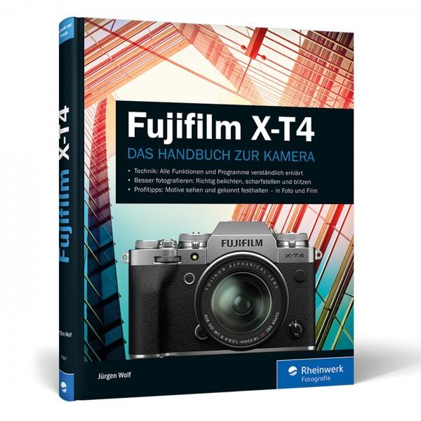 Buch: Fujifilm X-T4 - Das Handbuch zur Kamera