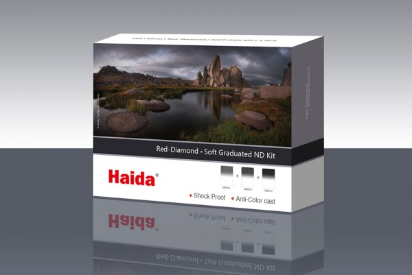Haida Red Diamond Soft GND Kit 150x170 Grauverlauf
