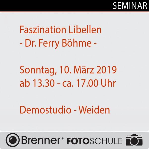 Faszination Libellen, mit Dr. Ferry Böhme