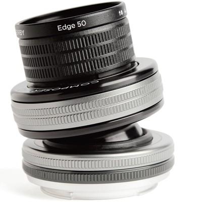 Lensbaby Composer Pro II+Edge 50 Optik f. Nikon F