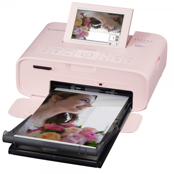 Canon SELPHY Fotoprinter CP1300, pink