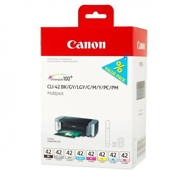 Canon CLI-42 Multipack 8 Farben