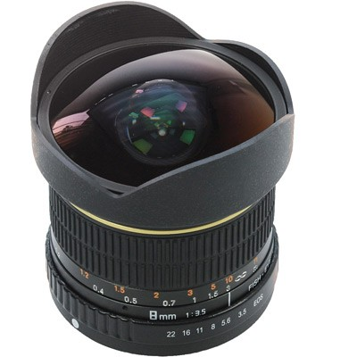 Dörr Fisheye Weitwinkelobjektiv 3,5/8mm f. Nikon