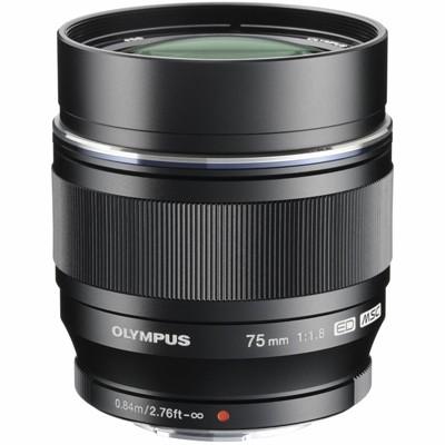 Olympus M. Zuiko Digital ED 1,8/75mm, schwarz
