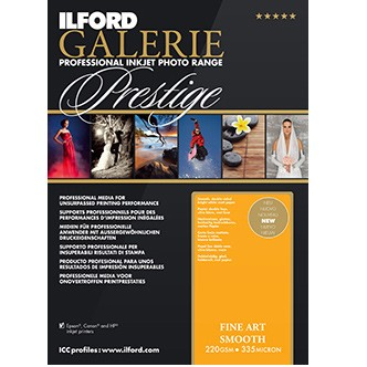 Ilford Galerie Prest.Fineart Smooth A3+ 25 Bl.