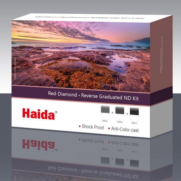 Haida Red Diamond Reverse GND 100x150 Filter-Kit