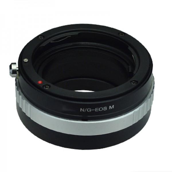 B.I.G. Objektivadapter Nikon F (G) an Canon EF-M