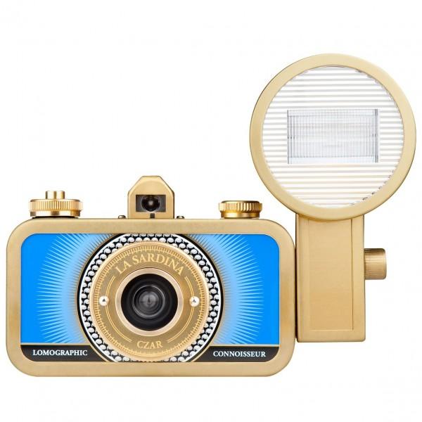 Lomo La Sardina Camera&FlashCzar, Metal Edition