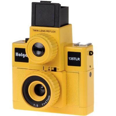 Holga 135 TLR, gelb